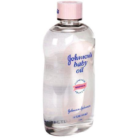 Johnson & Johnson Baby Oil, 14 oz