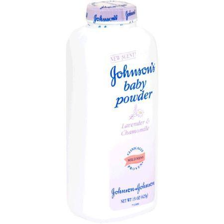 Johnson & Johnson Baby Powder,  Lavender & Chamomile, 15 oz