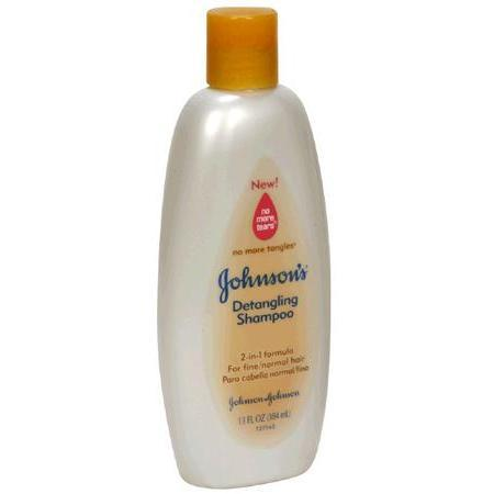 Johnson & Johnson Detangling Shampoo,  for Fine/Normal Hair, 13 oz