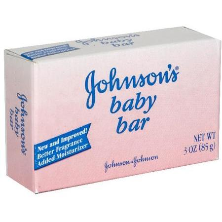 Johnson & Johnson Baby Bar, 3 oz