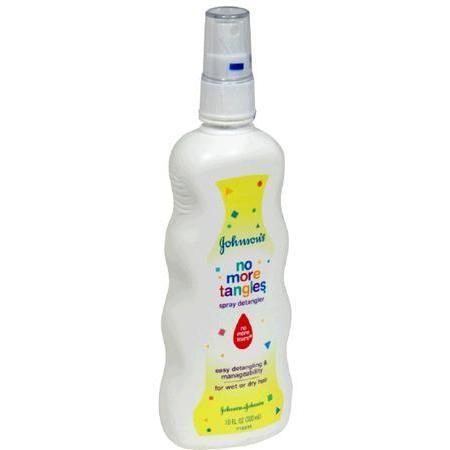 Johnson & Johnson Spray Detangler, 10 oz