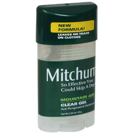 Mitchum Anti-Perspirant & Deodorant, Clear Gel, Mountain Air, 2.25 oz