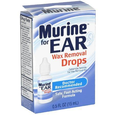 Murine Wax Removal Drops, 0.5 oz