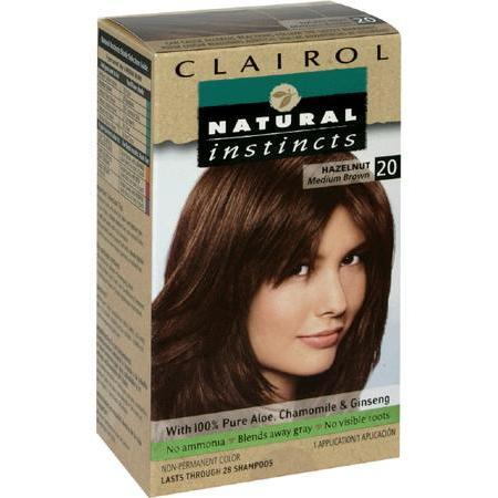 Natural Instincts Non-Permanent Color, Medium Bronze Brown 20, 1 ea