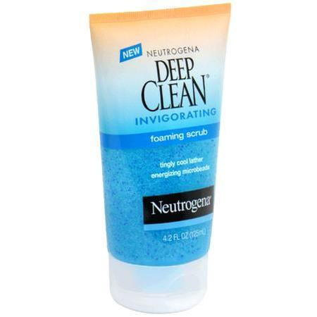 Neutrogena Foaming Scrub, Invigorating, 4.2 oz