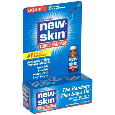 New-Skin First Aid Antiseptic Liquid Bandage, for Small Cuts & Wounds, 1 oz