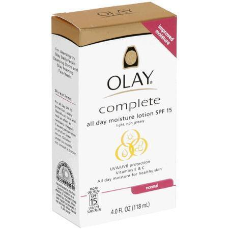 Olay All Day Moisture Lotion, SPF 15, Normal, 4 oz