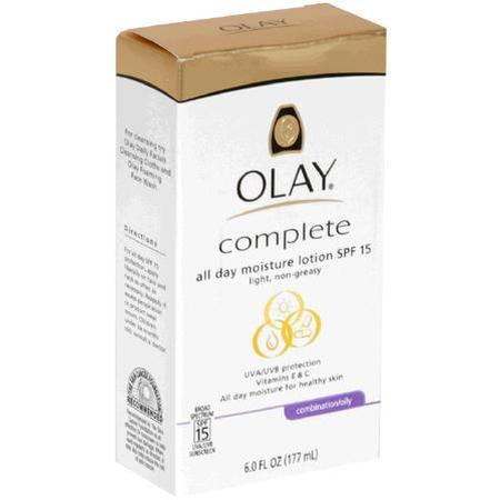 Olay All Day Moisture Lotion, SPF 15, Combination/Oily, 6 oz