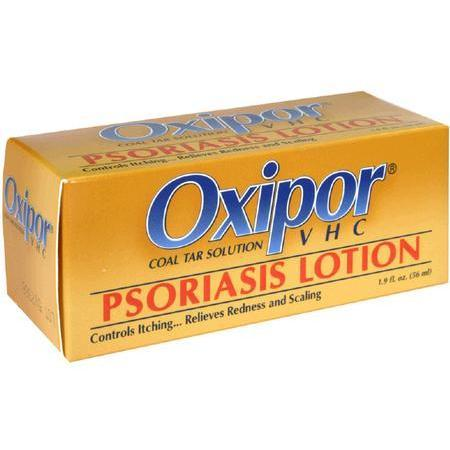 Oxipor Psoriasis Lotion, Coal Tar Solution, 1.9 oz