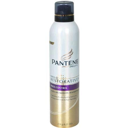 Pantene Anti-Humidity Hairspray, Frizz Control, 8.25 oz
