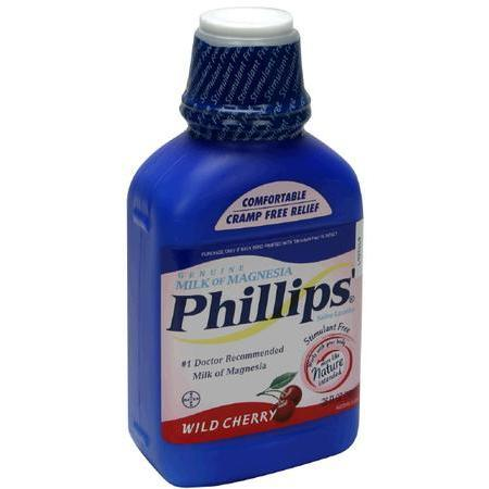 Phillips Milk of Magnesia, Wild Cherry, 26 oz