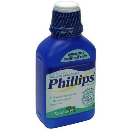 Phillips Milk of Magnesia, Sugar Free, Fresh Mint, 26 oz