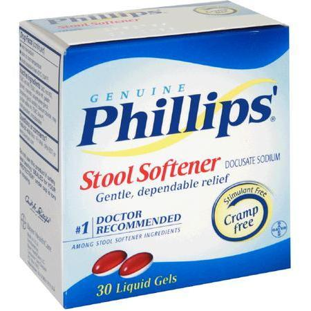 Phillips Stool Softener, 30 liquid gels