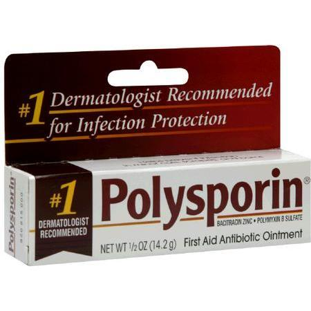Polysporin First Aid Antibiotic Ointment, 15 gram