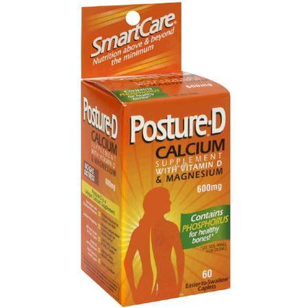 Posture Calcium, with Vitamin D & Magnesium, 600 mg- 60 tab