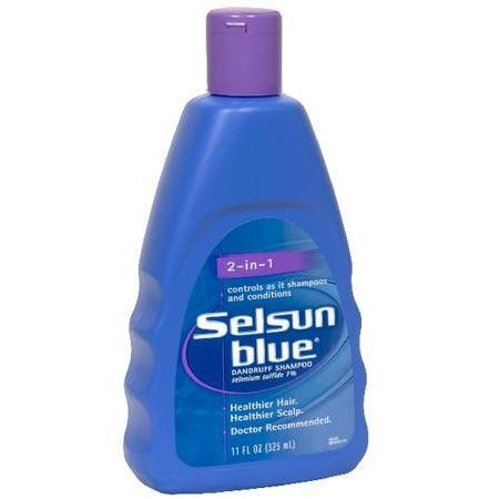Selsun Blue 2-In-1 Dandruff Shampoo, 11 oz