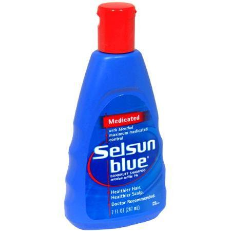 Selsun Blue Dandruff Shampoo, Medicated, 7 oz