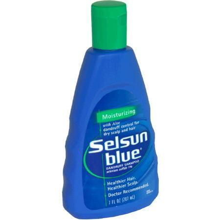 Selsun Blue Dandruff Shampoo, with Aloe, Moisturizing, 7 oz