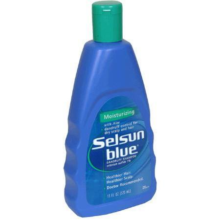 Selsun Blue Dandruff Shampoo, with Aloe, Moisturizing, 11 oz