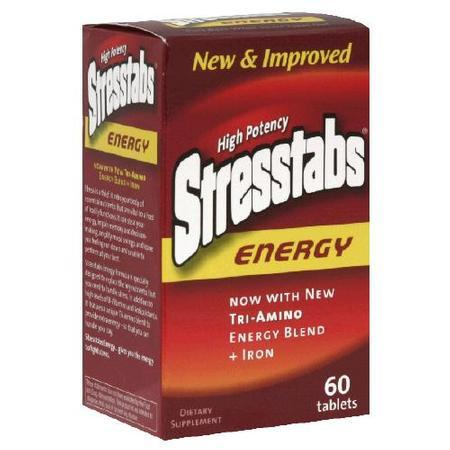 Stresstabs High Potency Energy, 60 tab