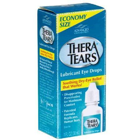 Thera Tears Lubricant Eye Drops, Economy Size, 1 oz