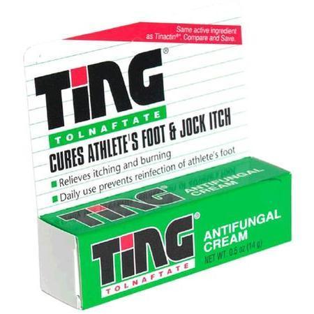 Ting Antifungal Cream, 0.5 oz