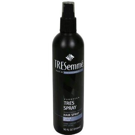 TRESemme European Hair Spray, Super Hold, 10 oz