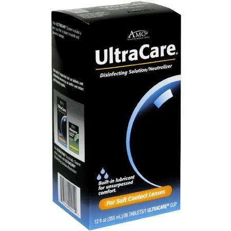 Ultracare Disinfecting Solution/Neutralizer System, for Soft Contact Lenses, 12 oz