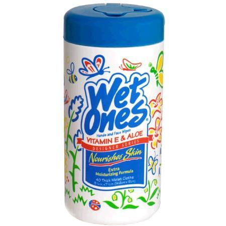 Wet Ones Sensitive Skin, Extra Gentle, 40 ea