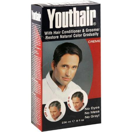 Youthair Creme, with Hair Conditioner & Groomer, 8 oz