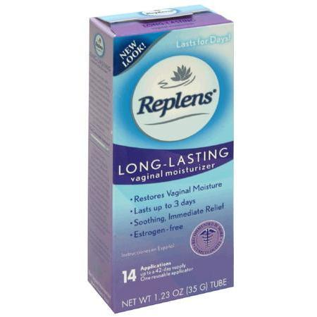 Replens Vaginal Moisturizer, Long-Lasting, 35 gram