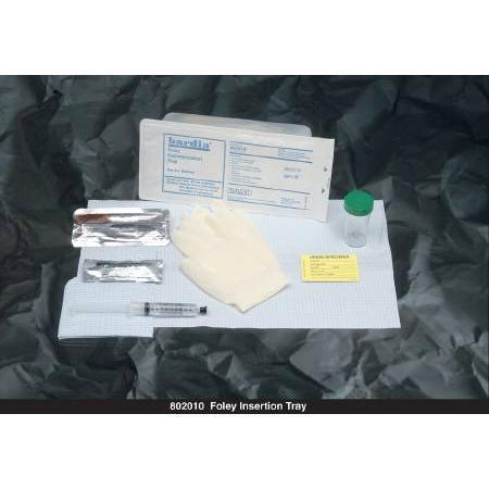 Bardia Foley Catheter Insertion Tray,  With O Catheter 10cc Syringe No Gloves Sterile, 1 ea