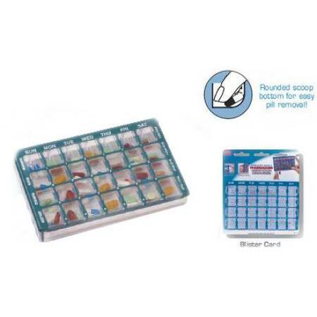 Apothecary Products Inc. Pill Organizer,  28 Pockets, 1 ea
