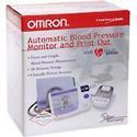 Omron Memory Print Out And Graph Blood Pressure Monitor, 1 ea