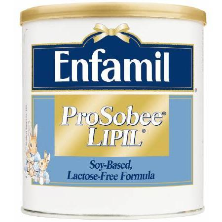 Mead Johnson Enfamil Prosobee Lipil,  Powder 12.9 Ounce Can, 1 ea