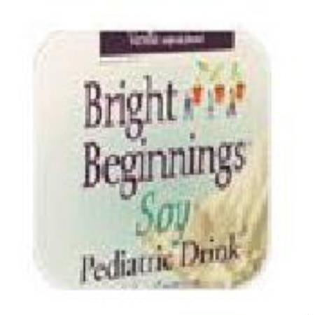 Pbm Products, Llc Bright Beginnings Pediatric Soy Drink, Vanilla, 24 Case