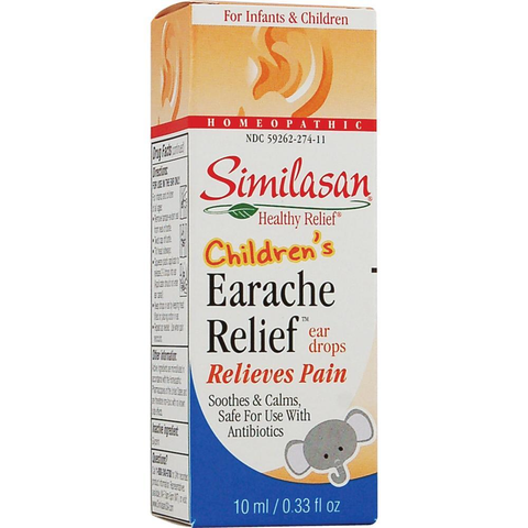 Similasan Childrens Earache Relief Drops, 0.33 oz