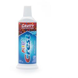 Crest Neat Squeeze Kids Toothpaste,  Sparkle Fun, 6 oz, LIMITED QUANTITY REMAINING
