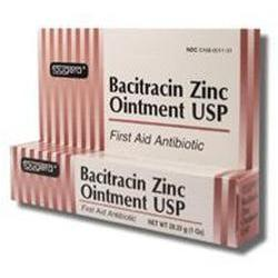 Fougera & Co. Bacitracin Zinc First Aid Antiboitic Ointment, 0.5 oz