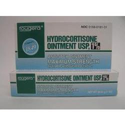 Fougera & Co. Hydrocortisone 1 % Maximum Strength Anti-Itch Ointment, 1 oz