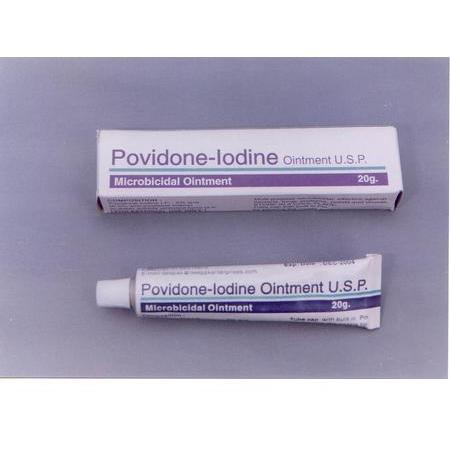 Qualitest Pharm Povidone Iodine Solution, 8 oz
