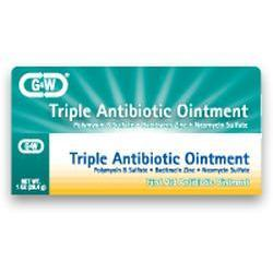 G&W Labs Triple Antibiotic, 5M UN, 1 oz