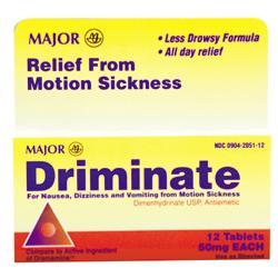 Major Pharm Driminate 50mg, 12 tab