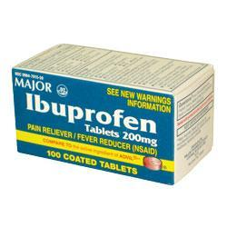 Major Pharm Ibuprofen,  200 mg- 100 tab