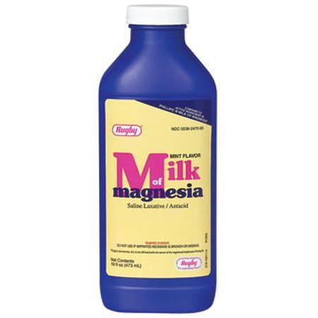 Watson Pharma Rugby Milk Of Magnesium, 16 oz