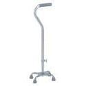 Carex Health Cane Quad Large,  Silver, 1 ea