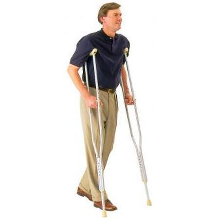Carex Health Crutch Hand,  Grip Solid, 1 ea