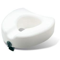 Sunrise Medical Guardian Locking Raised Toilet Seat, 1 ea