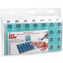 Apothecary Products Inc. Ezy-Dose One-Day-At-A-Time Weekly Medication Organizer, 1 ea - PlanetRx