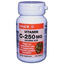 Major Pharm Vit C,  500 mg- 100 tab